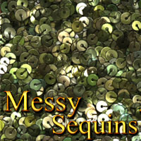 Messy Sequins 3D Models 2D Graphics designfera