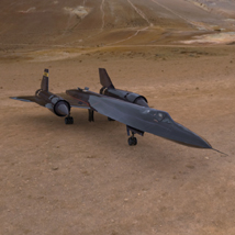 SR-71 (for Poser) Themed Transportation VanishingPoint