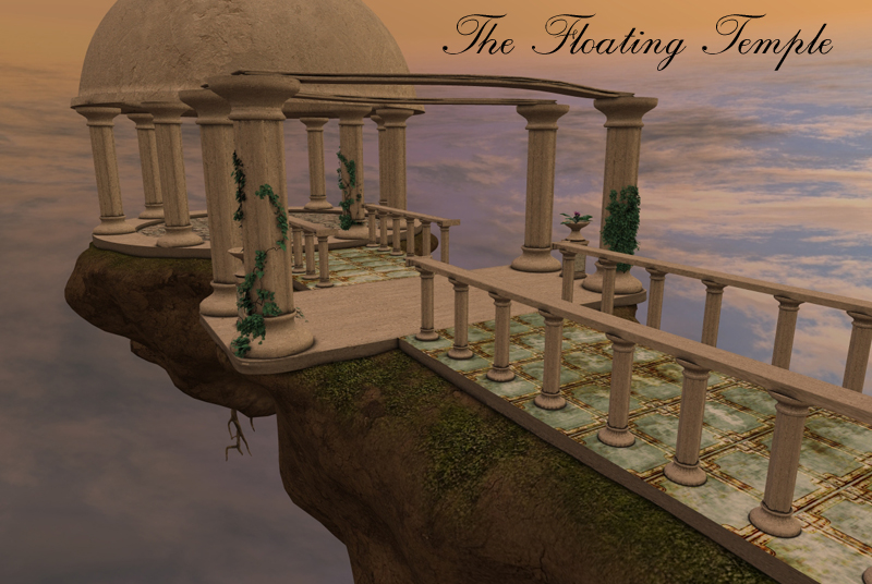 The Floating Temple by biglovepose