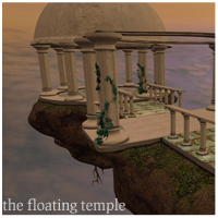 The Floating Temple 3D Models ironman13