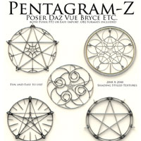 Pentagram-Z Themed Props/Scenes/Architecture Poisen