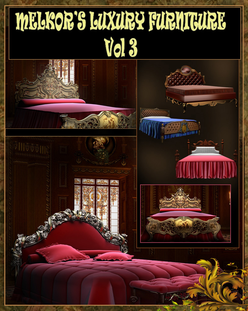 Luxury Furniture Vol 3