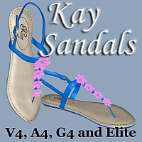 Kay Sandals by DreamerZ_Loft