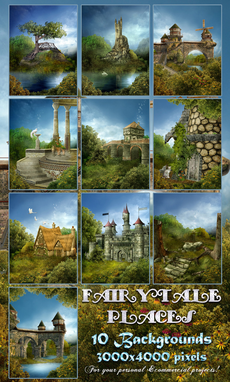 Fairytale Places Backgrounds
