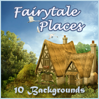 Fairytale Places Backgrounds by -Melkor-
