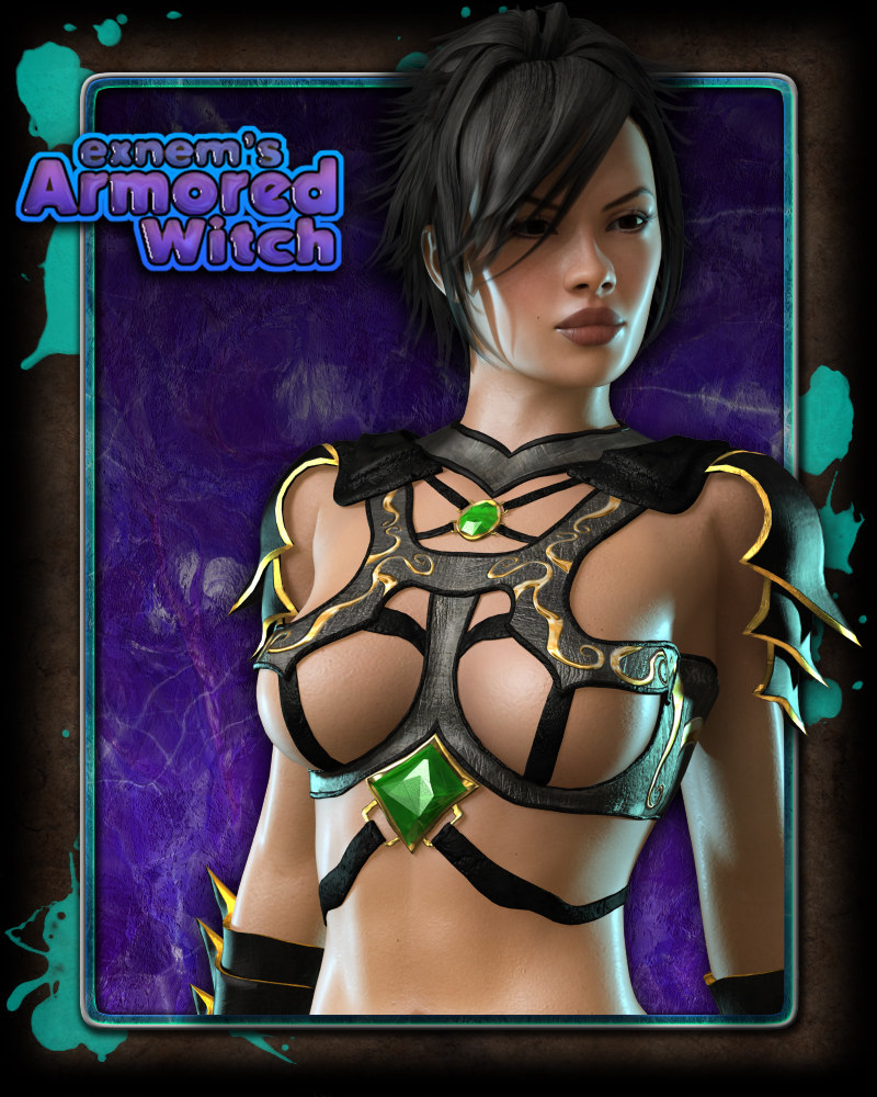 Exnem's Armored Witch for V4/A4/Elite/GND and More
