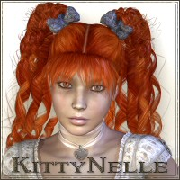 KittyNelle-Hair 3D Figure Essentials SWAM