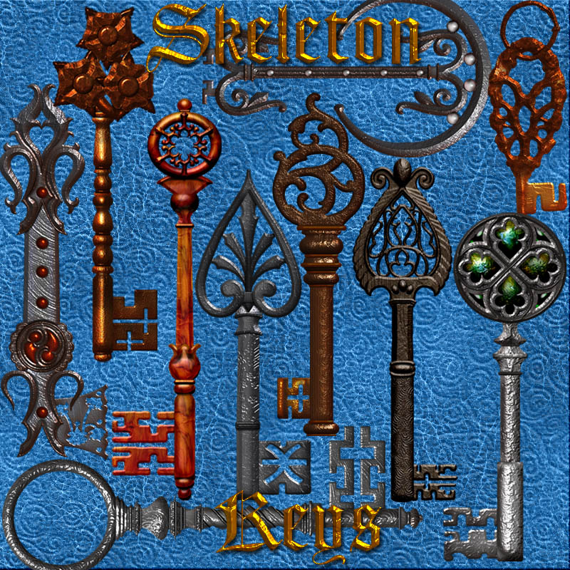 Harvest Moons Skeleton Keys