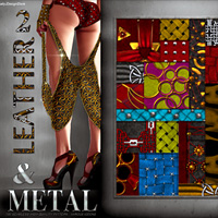 Leather & Metal 2 2D And/Or Merchant Resources LadyJ