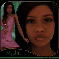 Mychal V4.2, A4, G4 3D Figure Essentials reciecup