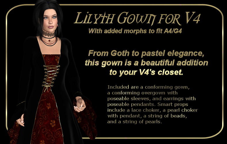 Lilyth Gown