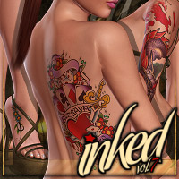Inked Vol.7 2D Graphics ShanasSoulmate