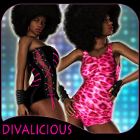 Divalicious for V4 Poses/Expressions Clothing Characters reciecup