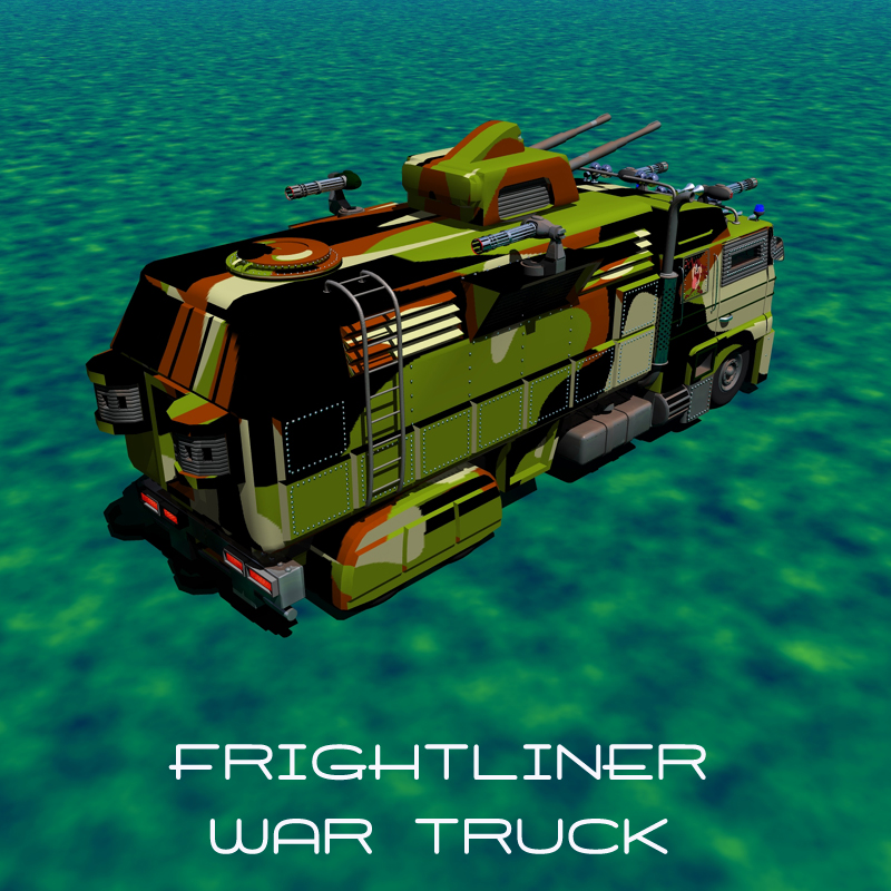 Frightliner War truck