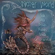 Water World 3D Figure Assets 3D Models 2D Graphics ilona