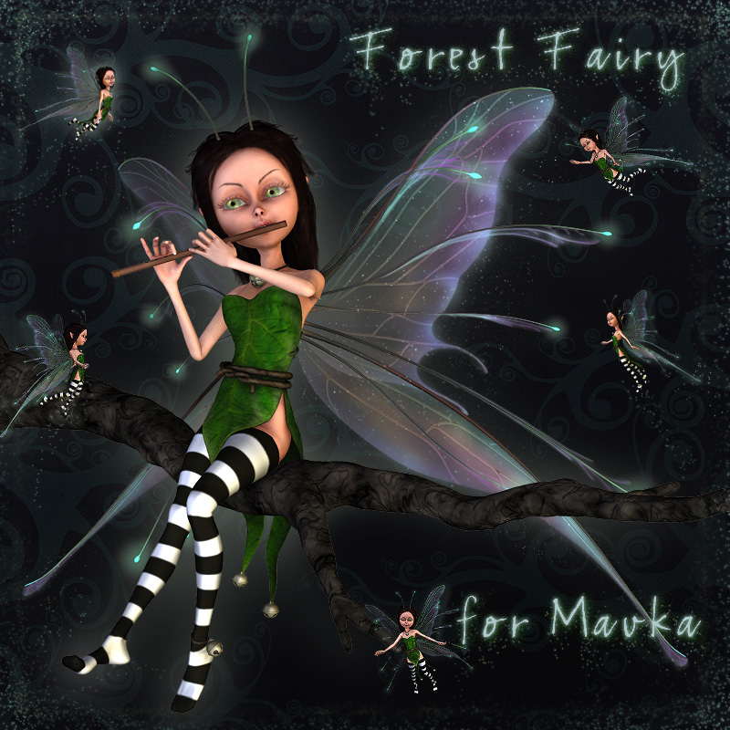 Forest Fairy for Mavka
