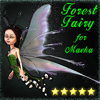 Forest Fairy for Mavka 3D Models smay