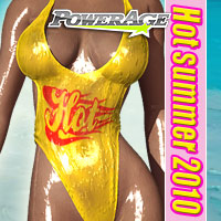 Hot summer 2010 3D Figure Essentials powerage
