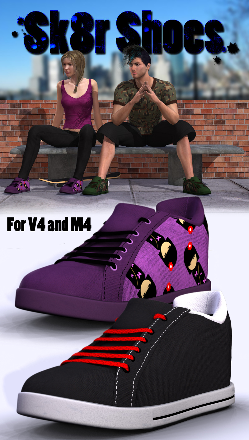 Sk8r Shoes V4 and M4