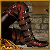 Euros Boots For M4 H4 3D Figure Essentials prae