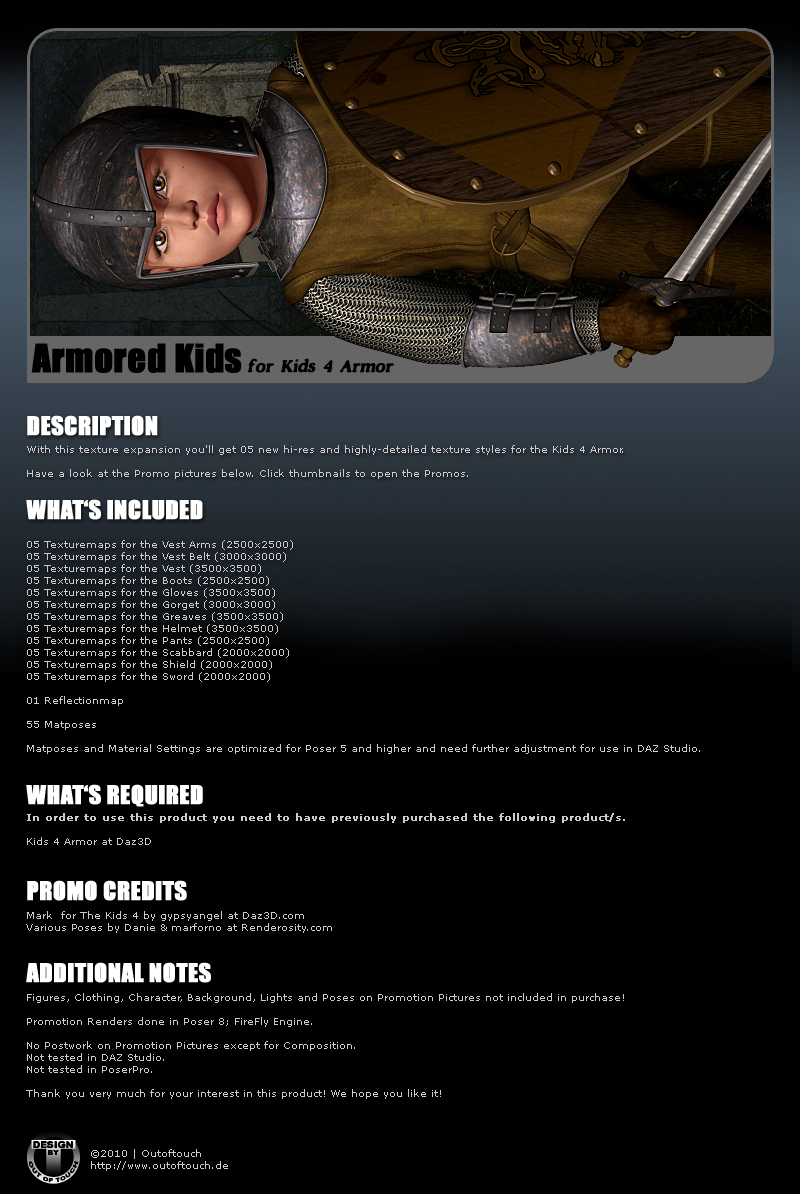 ARMORED KIDS for Kids 4 Armor