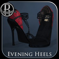 Evening Heels V4,A4,G4 Clothing Footwear Themed RPublishing