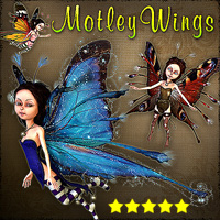 Motley Wings 3D Models smay