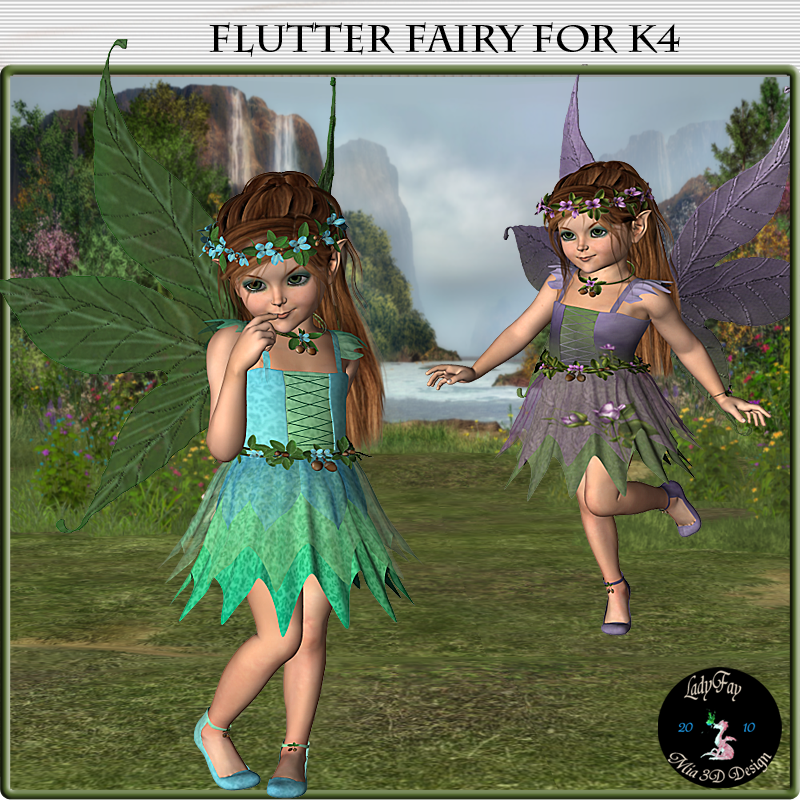 Flutter Fairy for K4