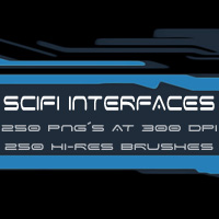 SciFi Interfaces 3D Models 2D Graphics designfera