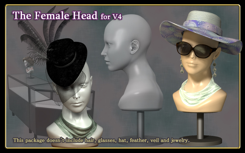 The Female Head for V4