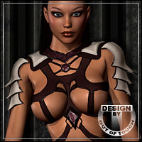 BARBED for Exnem´s Armored Witch 3D Models 3D Figure Assets outoftouch