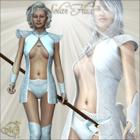 Solar Flux 3D Figure Essentials 3D Models Mirabilis