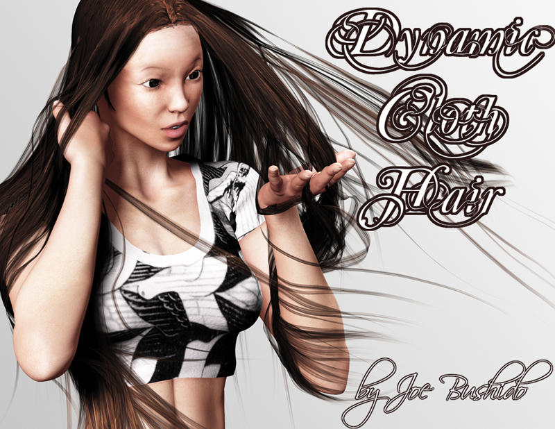 Dynamic Cloth Hair by Joe Bushido