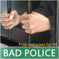 Bad Cop Poses/Expressions Props/Scenes/Architecture halcyone