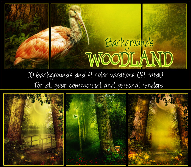 Woodland Backgrounds