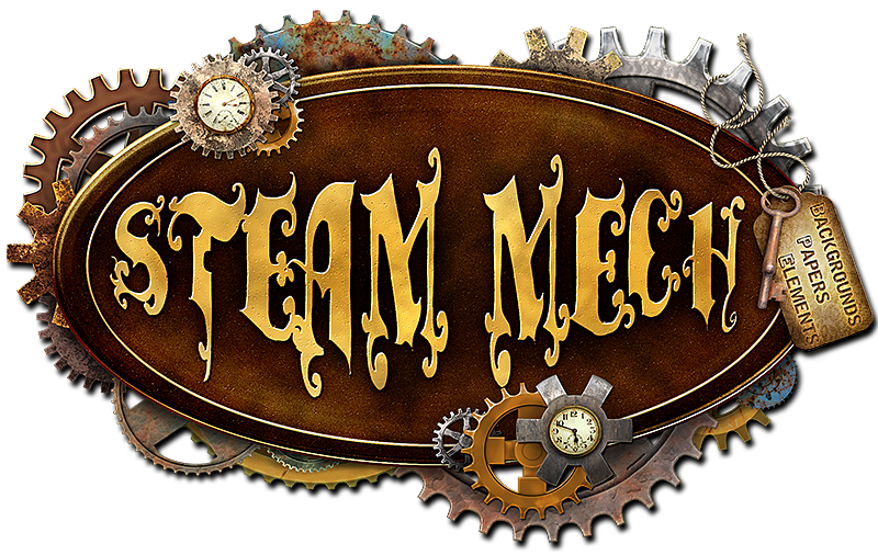 Steam-Mech: Backgrounds, Papers, Elements