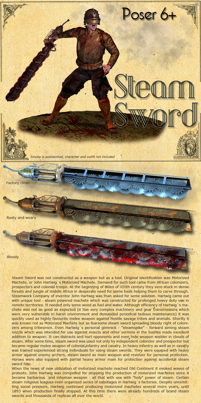 Steam Sword