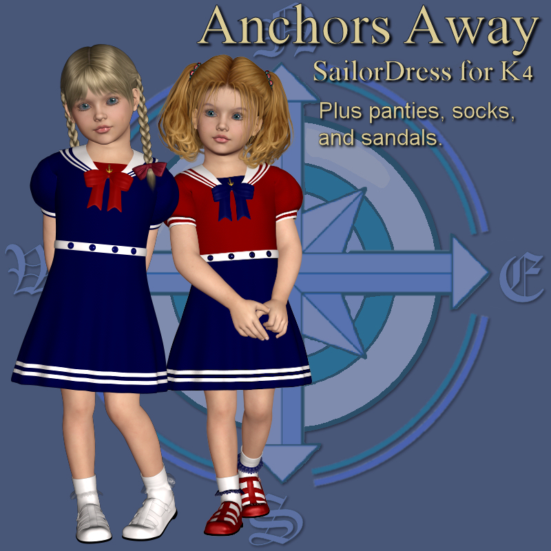 Anchors Away Dress for K4