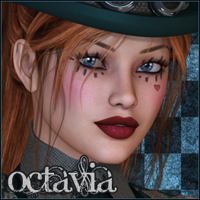 FRAD Octavia 3D Models 3D Figure Essentials Freja