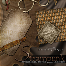 SVs Steampunk Resource and Shaders image 5