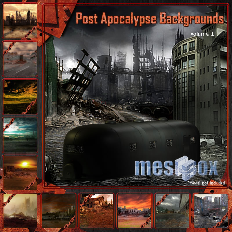 Meshbox Post Apocalypse Backgrounds 1