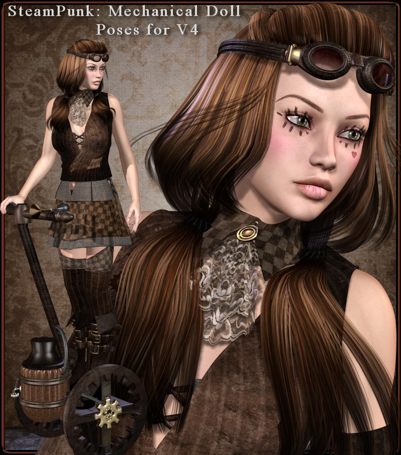 SteamPunk: Mechanical Doll Poses