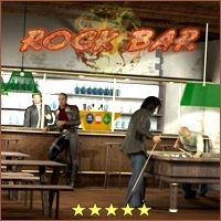 Rock Bar by 3-D-C 3D Models 3D Figure Assets 3-d-c