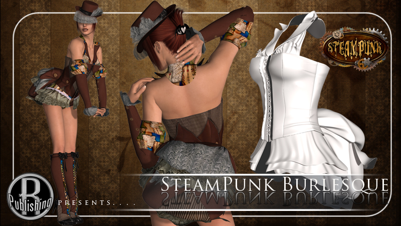 SteamPunk Burlesque V4, A4, G4, Elite & Mavka by RPublishing