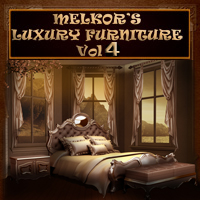 Luxury Furniture Vol 4 2D 3D Models -Melkor-