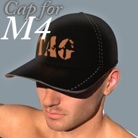 Cap for M4 3D Figure Assets TruForm