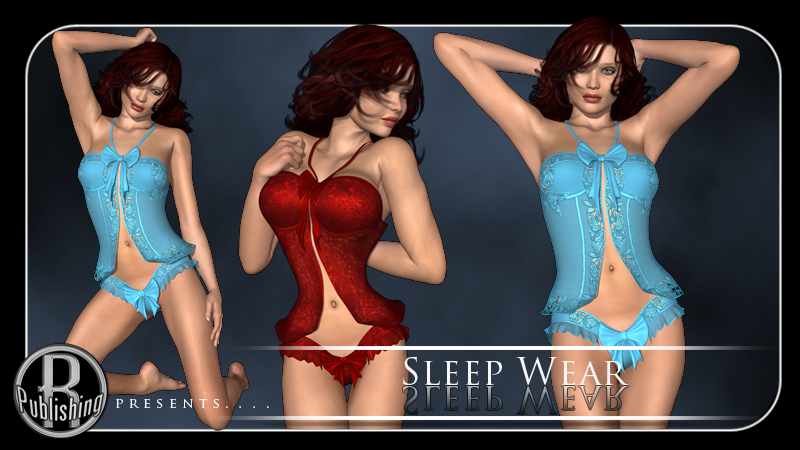 Valentine Sleep Wear Lingerie for V4
