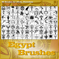 Egypt Brushes 2D Graphics Atenais
