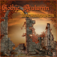 Gothic Autumn Backgrounds by -Melkor-