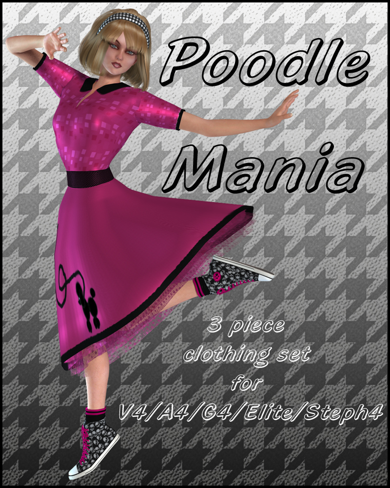 Poodle Mania for V4/A4/G4/Elite/Steph4